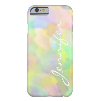 Name Pretty Pastels Barely There iPhone 6 Case