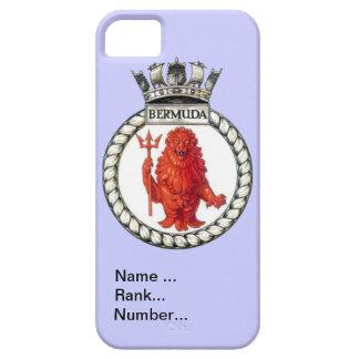Name, rank, Number, HMS Bermuda iPhone 5 Case