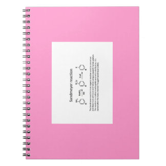 Name reaction Note Spiral Notebook