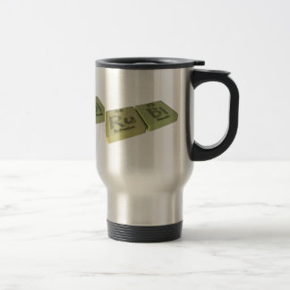name-Rubi-Ru-Bi-Ruthenium-Bismuth Travel Mug