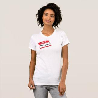 Name tag IMMIGRANT shirt