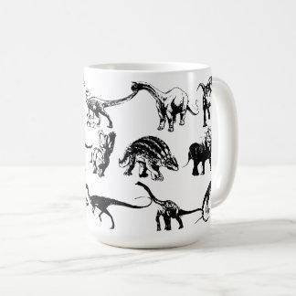 Name that dinosaur coffee mug