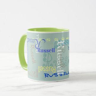 Name that office coffee mug: - no more mix-ups: mug