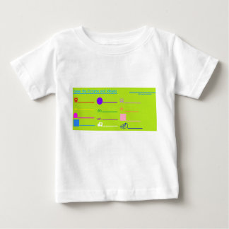 'Name the Pictures and Shapes' Baby Shirt