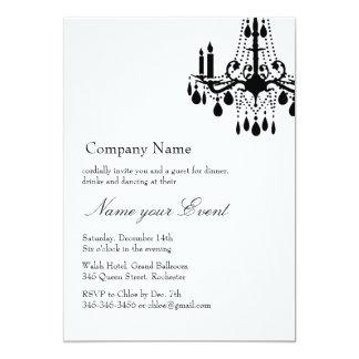 Name your Event White Grand Ballroom Card