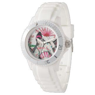 Name Your Japanese Geisha Watch