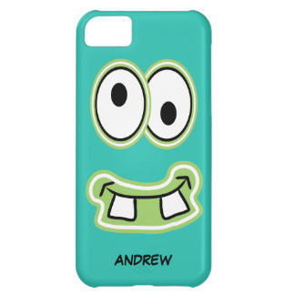 Name Your Monster Iphone Silly Face iPhone 5C Cases