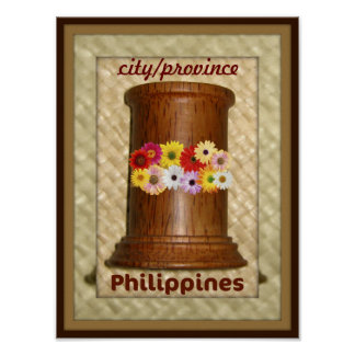 Name Your Philippine City or Province Poster