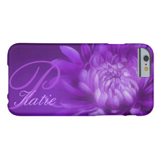 Named chrysanthemum purple iphone case