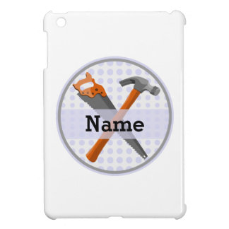 Named Personalized Tools design for boys. iPad Mini Cases