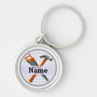 Named Personalized Tools design for boys. Keychain