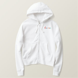 Namedrop Nation_Cancun Multi-colored Embroidered Hoodie