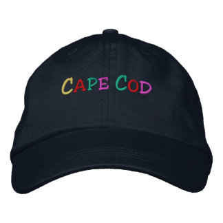 Namedrop Nation_Cape Cod multi-colored Embroidered Hat