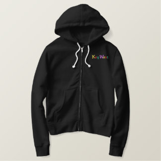 Namedrop Nation_Key West Multi-colored Embroidered Hoodie