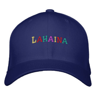 Namedrop Nation_Lahaina multi-colored Embroidered Hat
