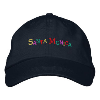 namedrop Nation_Santa Monica multi-colored Embroidered Hat