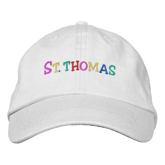 Namedrop Nation_St. Thomas multi-colored Embroidered Hat