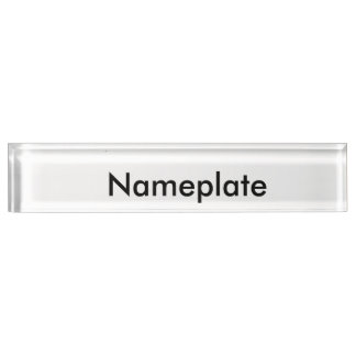 Nameplate