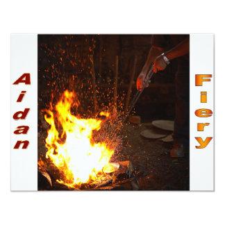 Names&Meanings - Aidan Custom Invites