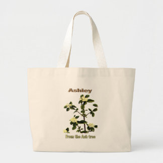 Names&Meanings - Ashley Large Tote Bag