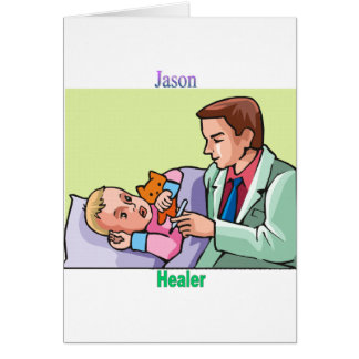 Names&Meanings - Jason Card