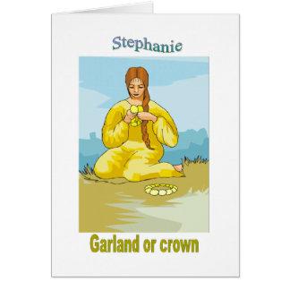 Names&Meanings - Stephanie Card