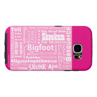 Names of Bigfoot Samsung Galaxy S6 Case - Pink