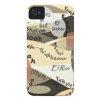Names of God iPhone 4 Cover