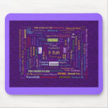 names of God mouse pad