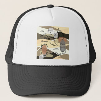 Names of God Trucker Hat