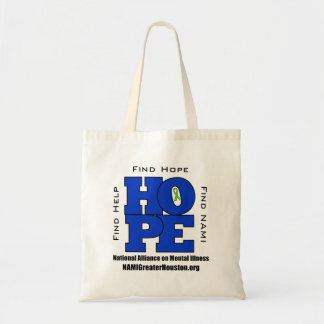 NAMI Greater Houston tote bag