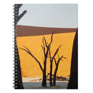 Namib-Naukluft Park, Sossusvlei | Dead Vlei Spiral Notebook