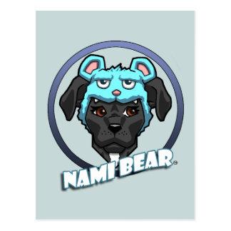 NamiBear Logo Postcard