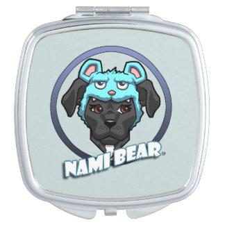 NamiBear Logo Travel Mirror