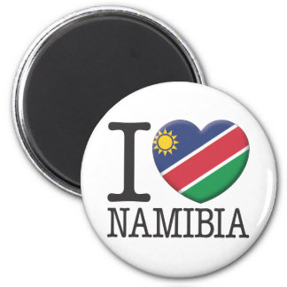 Namibia 2 Inch Round Magnet