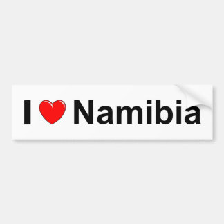 Namibia Bumper Sticker
