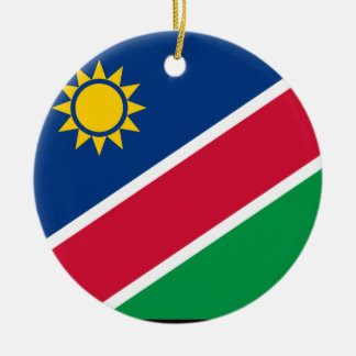 Namibia Ceramic Ornament