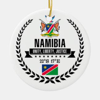 Namibia Ceramic Ornament