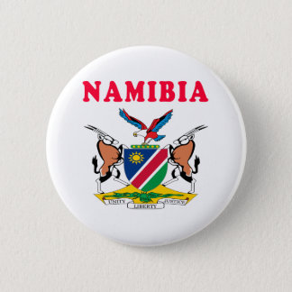Namibia Coat Of Arms Designs 2 Inch Round Button