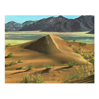 Namibia, desert and mountains postcard