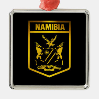 Namibia Emblem Metal Ornament