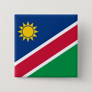 Namibia Flag 2 Inch Square Button