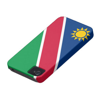 Namibia Flag Case-Mate iPhone 4 Cases