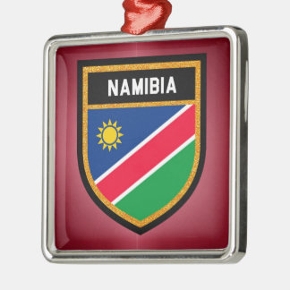 Namibia Flag Metal Ornament