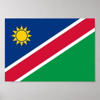 Namibia Flag Poster