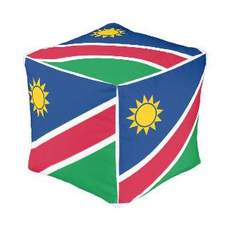 Namibia Flag Pouf