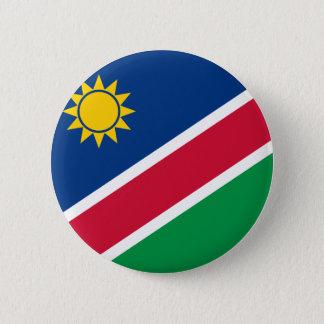 Namibia Flagi 2 Inch Round Button