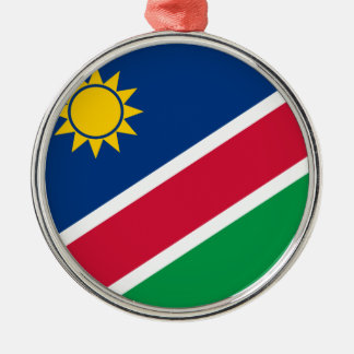 Namibia Flagi Metal Ornament