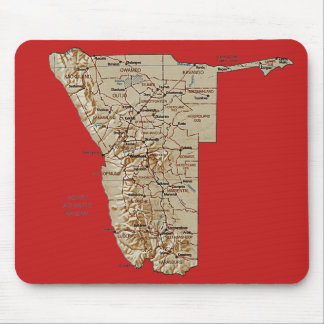 Namibia Map Mousepad