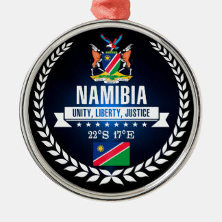 Namibia Metal Ornament